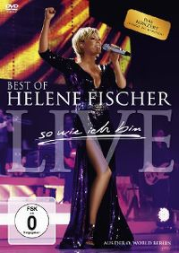 Cover Helene Fischer - Best Of Helene Fischer Live - so wie ich bin [DVD]